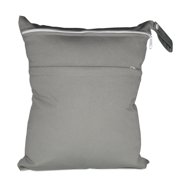 Personalised Greyish Waterproof Wet Bag - Little One Layette