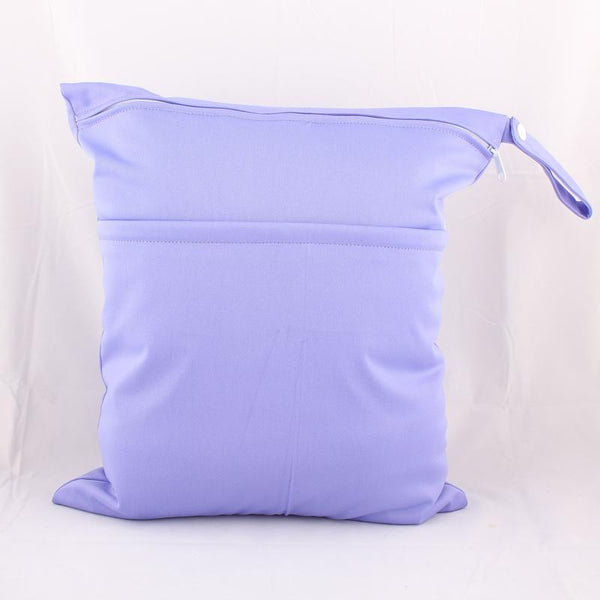Personalised Lilac Waterproof Wet Bag - Little One Layette