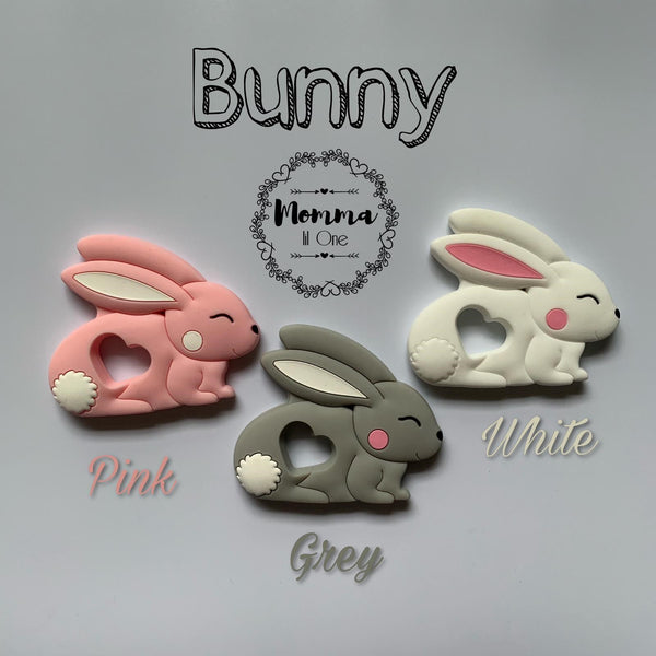 Bunny Silicone Teether - Little One Layette