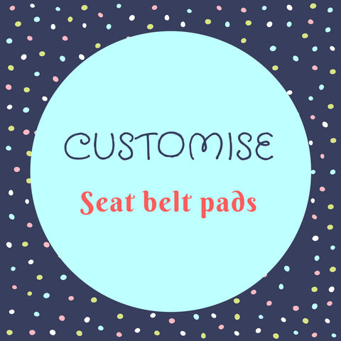 Stroller / Seat Belt Pads - Little One Layette