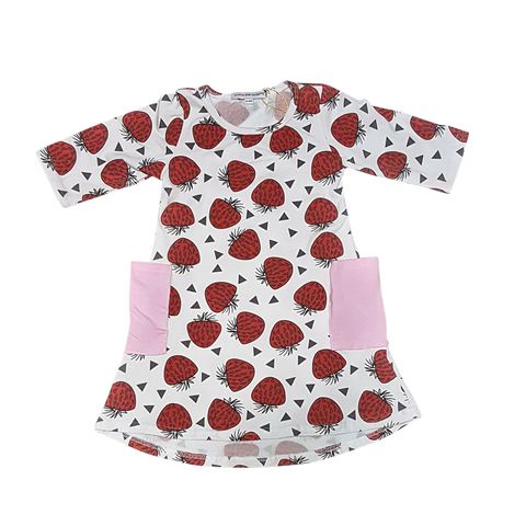 Berry Cool Looks Girl's Dress - Little One Layette