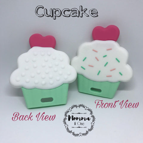 Cupcake Silicone Teether - Little One Layette