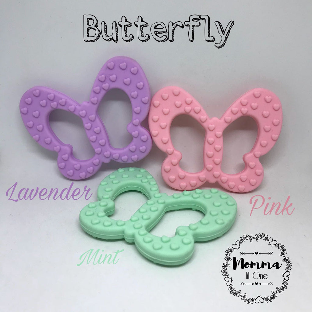Butterfly Silicone Teether - Little One Layette