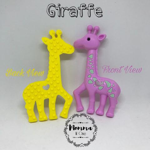 Giraffe Silicone Teether - Little One Layette