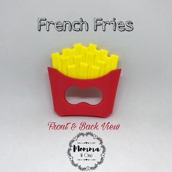 French Fries Silicone Teether - Little One Layette