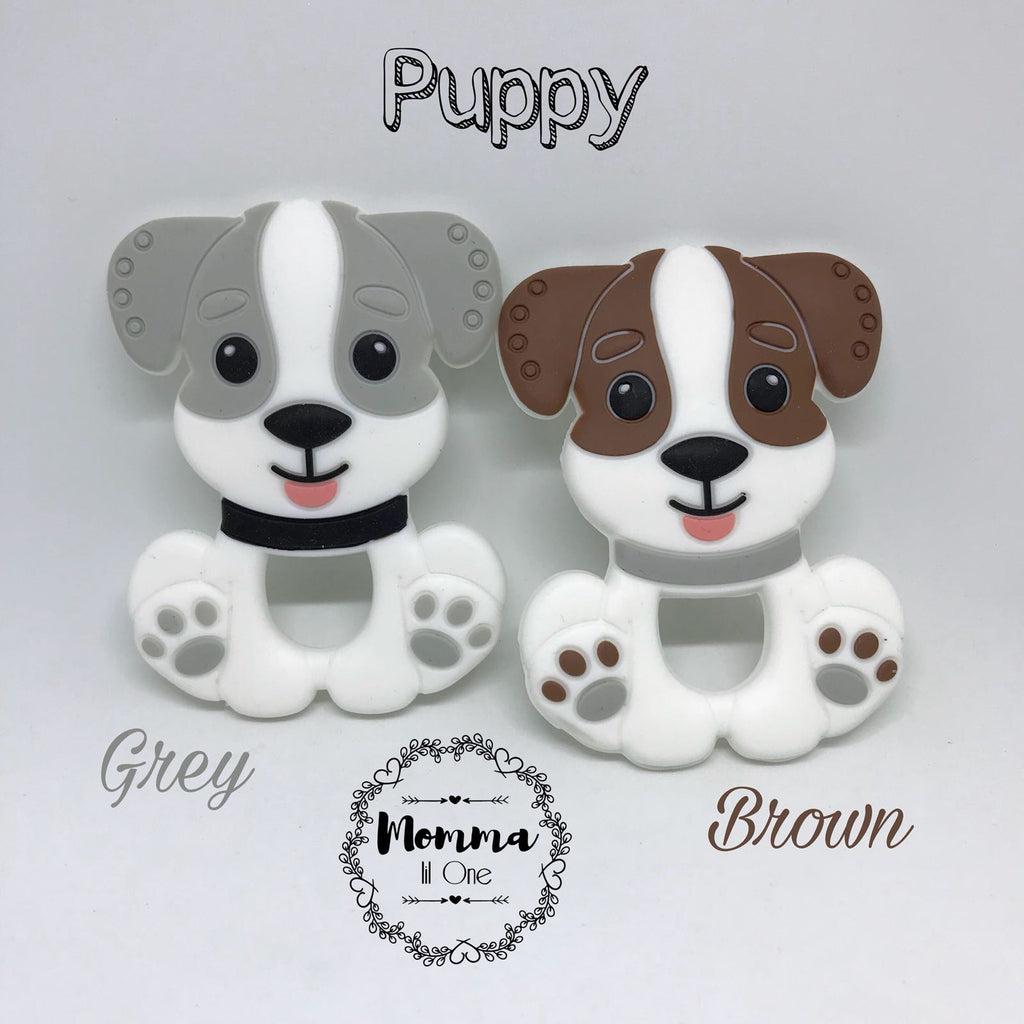 Puppy Silicone Teether - Little One Layette