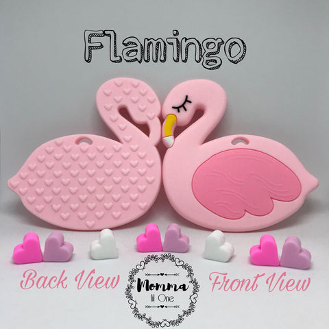 Flamingo Silicone Teether - Little One Layette