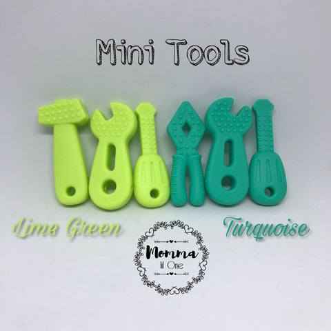 Mini Tools Silicone Teether - Little One Layette