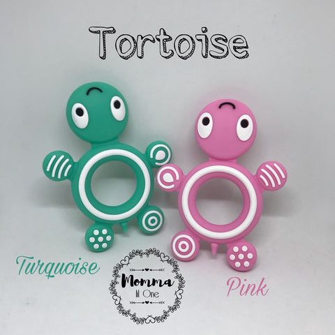 Tortoise Silicone Teether - Little One Layette