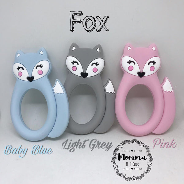 Fox Silicone Teether - Little One Layette