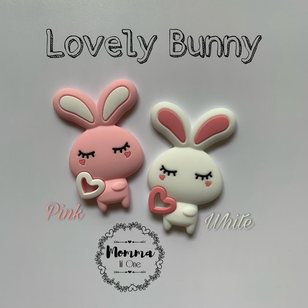 Lovely Bunny Silicone Teether - Little One Layette