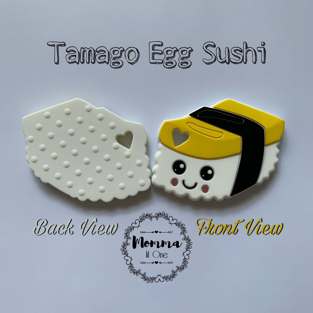 Tamago Egg Sushi Silicone Teether - Little One Layette