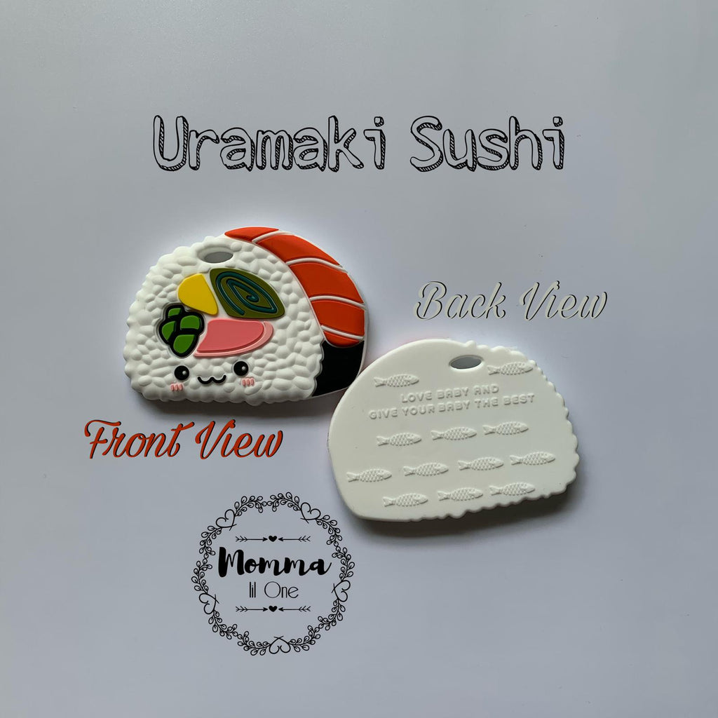 Uramaki Sushi Silicone Teether - Little One Layette