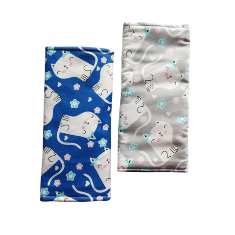 Cat Lovers Seat Belt Pads - Little One Layette