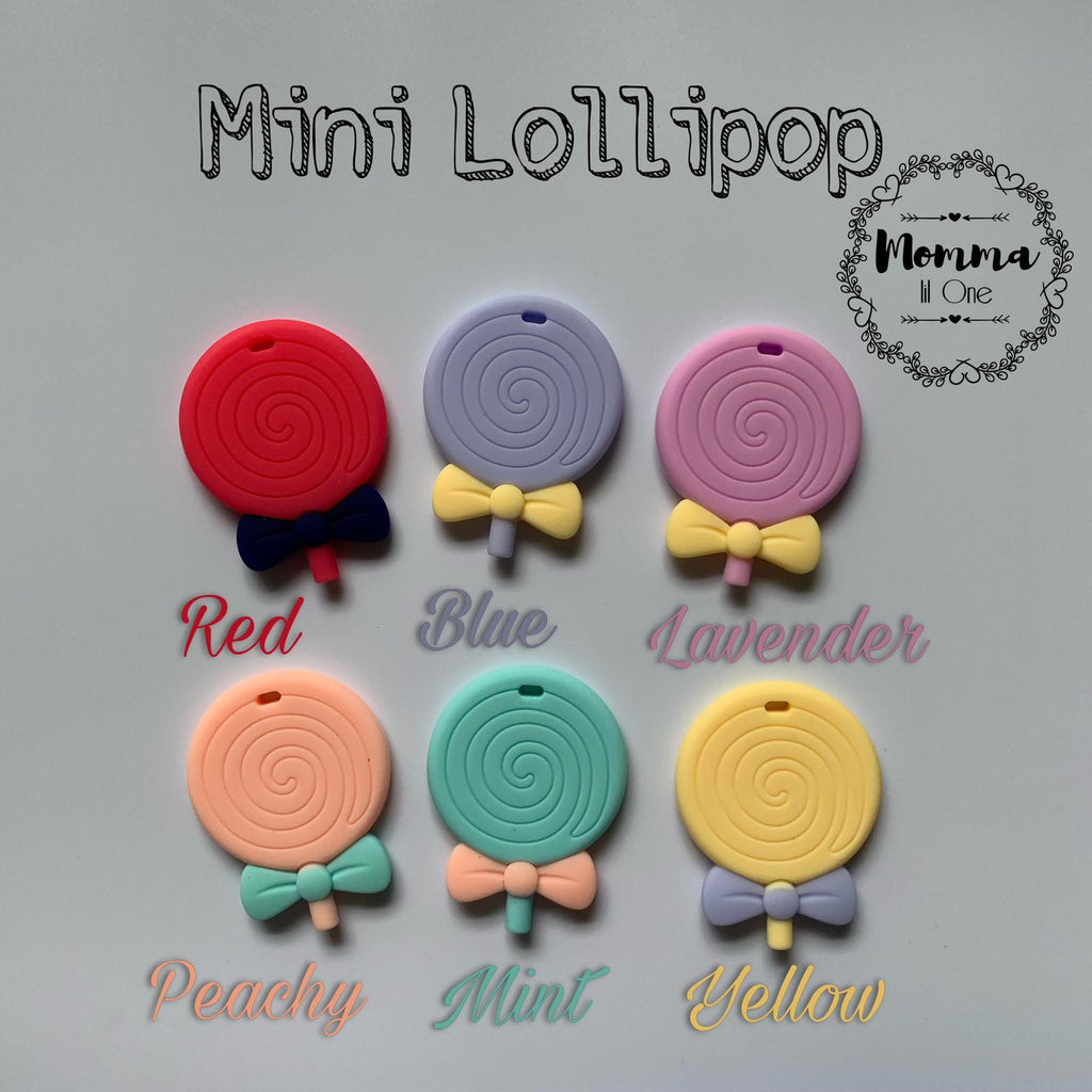 Mini Lollipop Silicone Teether - Little One Layette