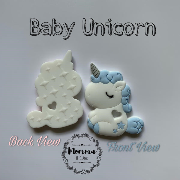 Baby Unicorn Silicone Teether - Little One Layette