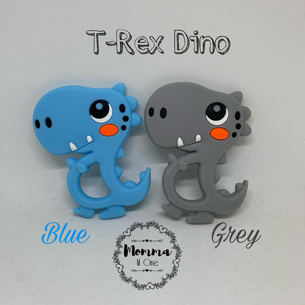 T-Rex Dino Silicone Teether - Little One Layette
