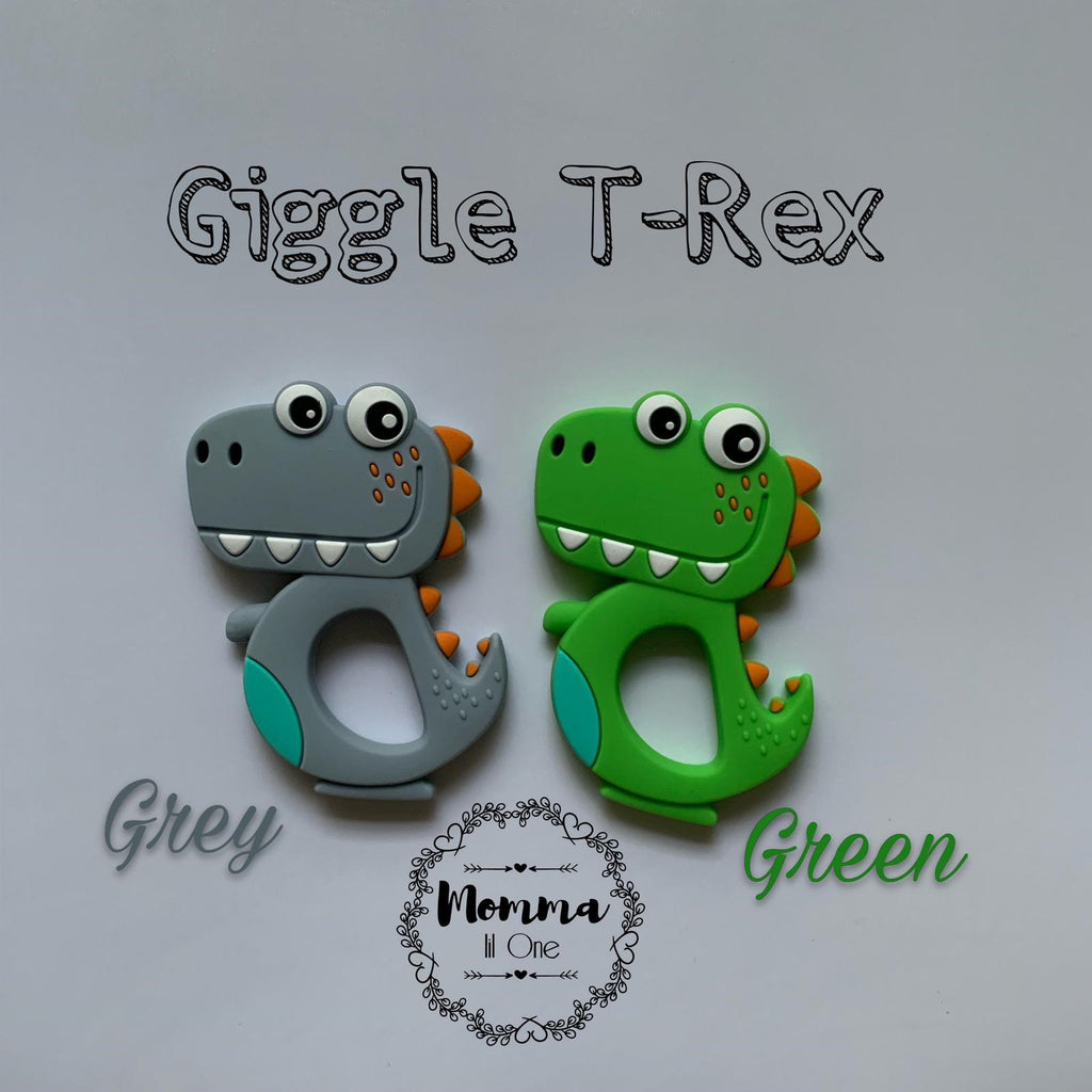Giggle T-rex Silicone Teether - Little One Layette