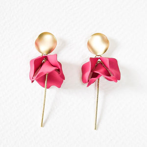 ESTA EARRING - BERRY
