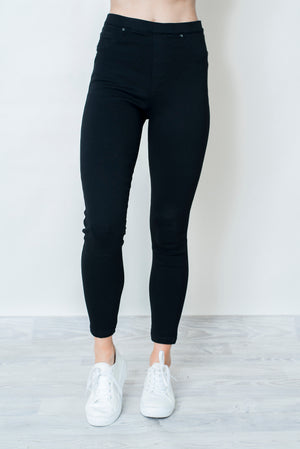 AVRIL JEGGINGS - BLACK