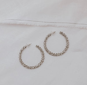CLEO HOOPS - SILVER