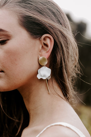 ESTA EARRING - CORNFLOWER