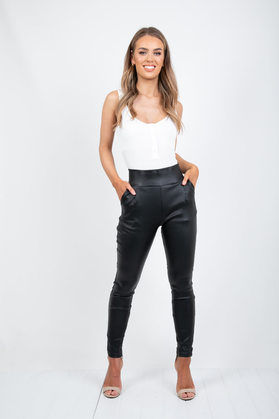 DESTINY SHINE PANT - BLACK