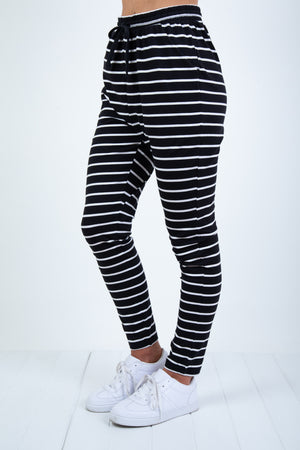 """BETTY BASICS' - JADE PANT - STRIPE"