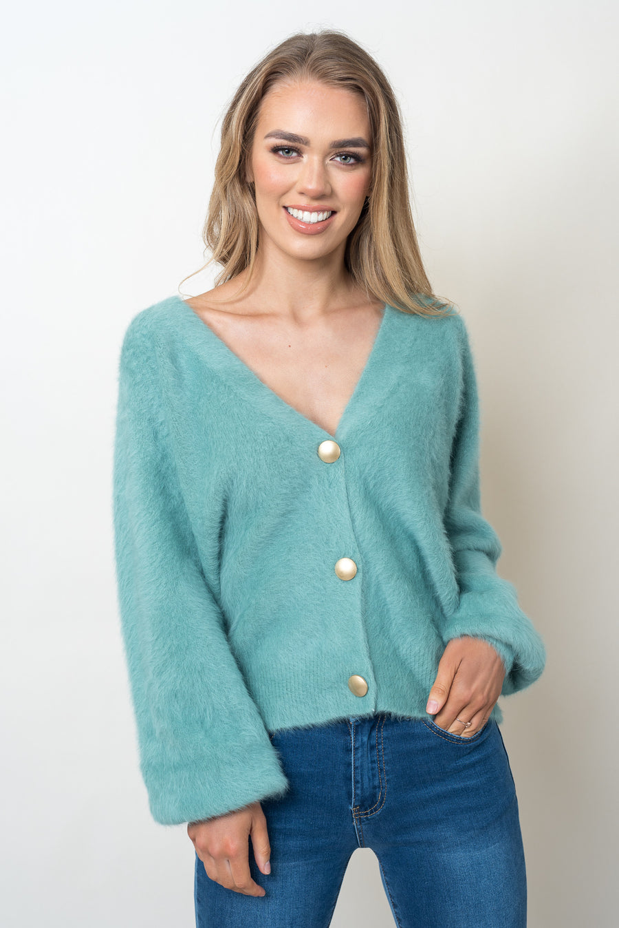 EVIE KNIT - TEAL