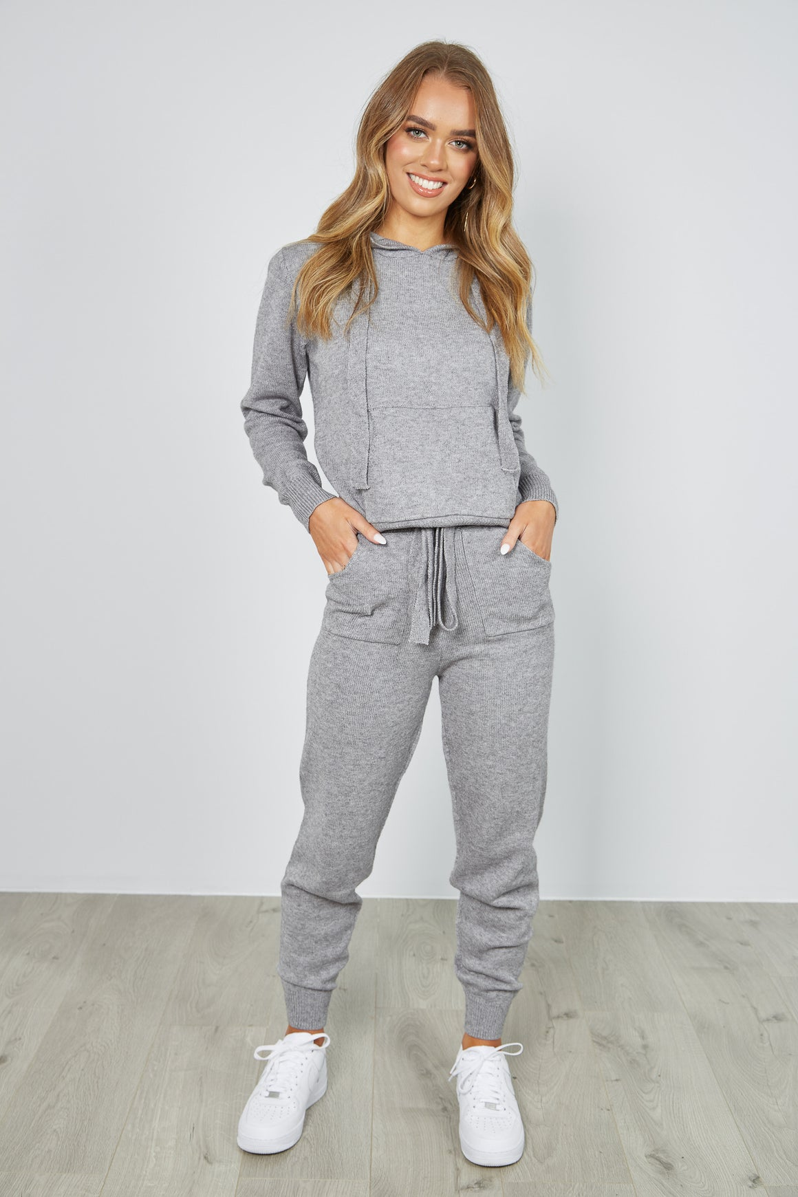 JACOB KNIT SET - GREY
