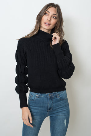WENDY KNIT- BLACK