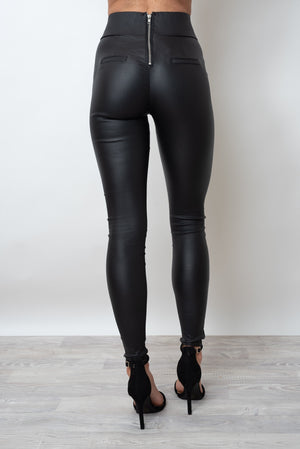 THE SAMMY SHINE PANT - BLACK
