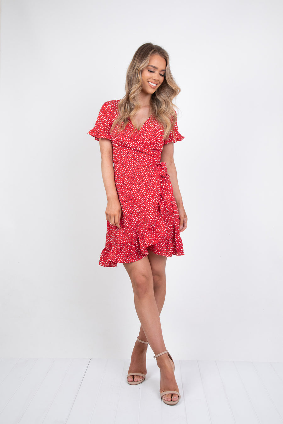 KYM DRESS  - RED