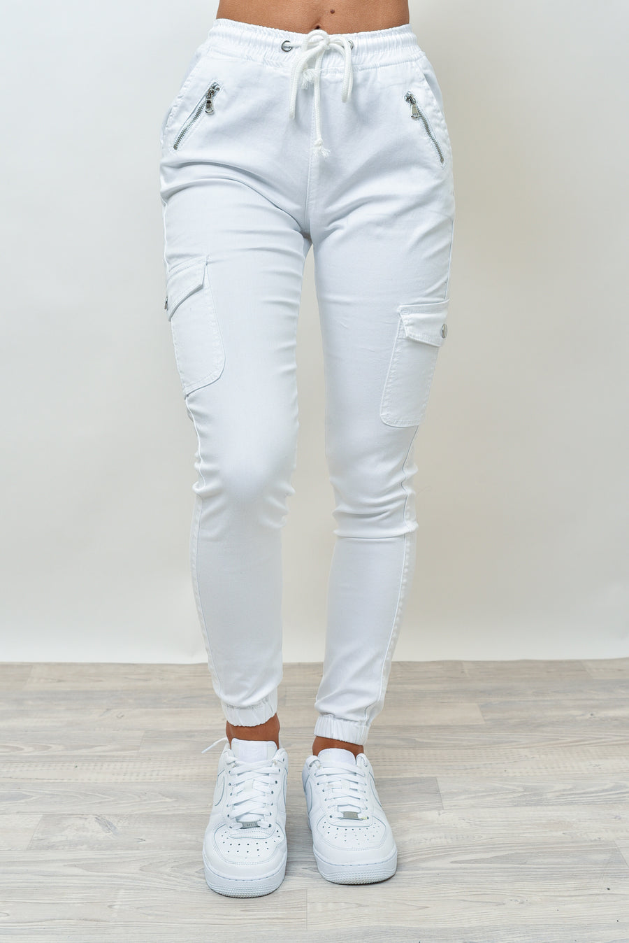 BILLY JOGGERS - WHITE