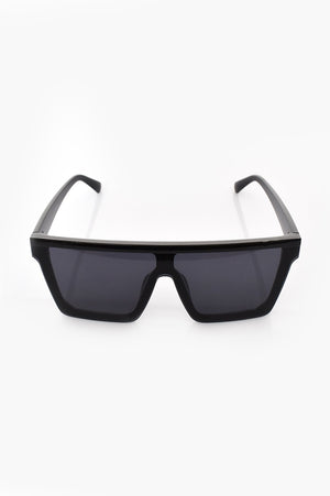 MARGAUX SQUARE SUNGLASSES - BLACK