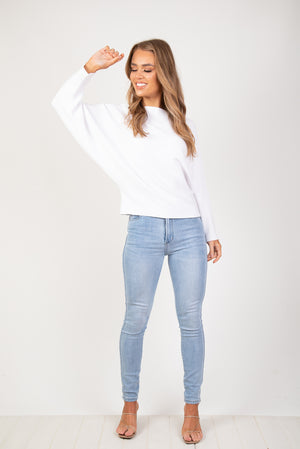 MONA KNIT - WHITE