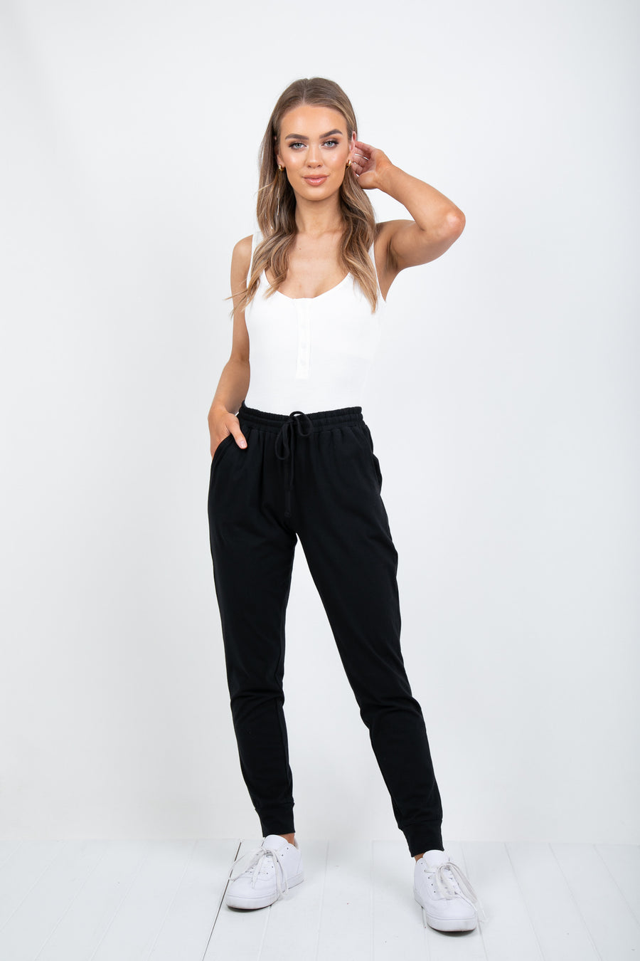 'BETTY BASICS'- HEIDI PANT - BLACK