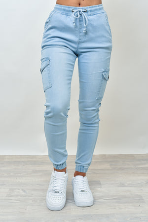 BILLY JOGGERS - LIGHT BLUE