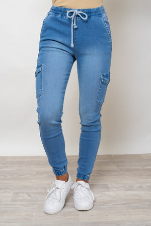 BILLY JOGGER - CLASSIC BLUE DENIM