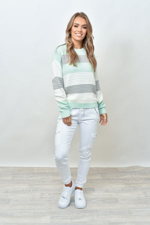 SHEVON KNIT - MINT