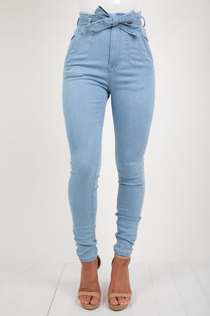 STRUTT JEAN - LIGHT BLUE