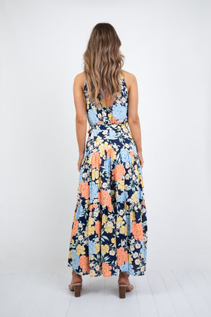 DELPHINE MAXI DRESS - PRINT