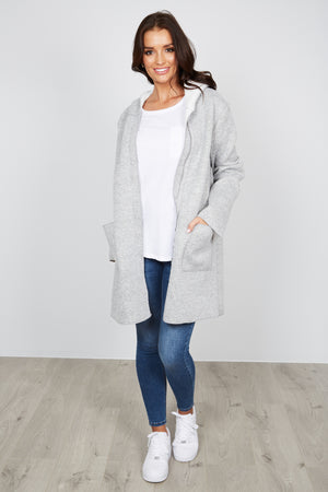 OSCAR COAT - GREY