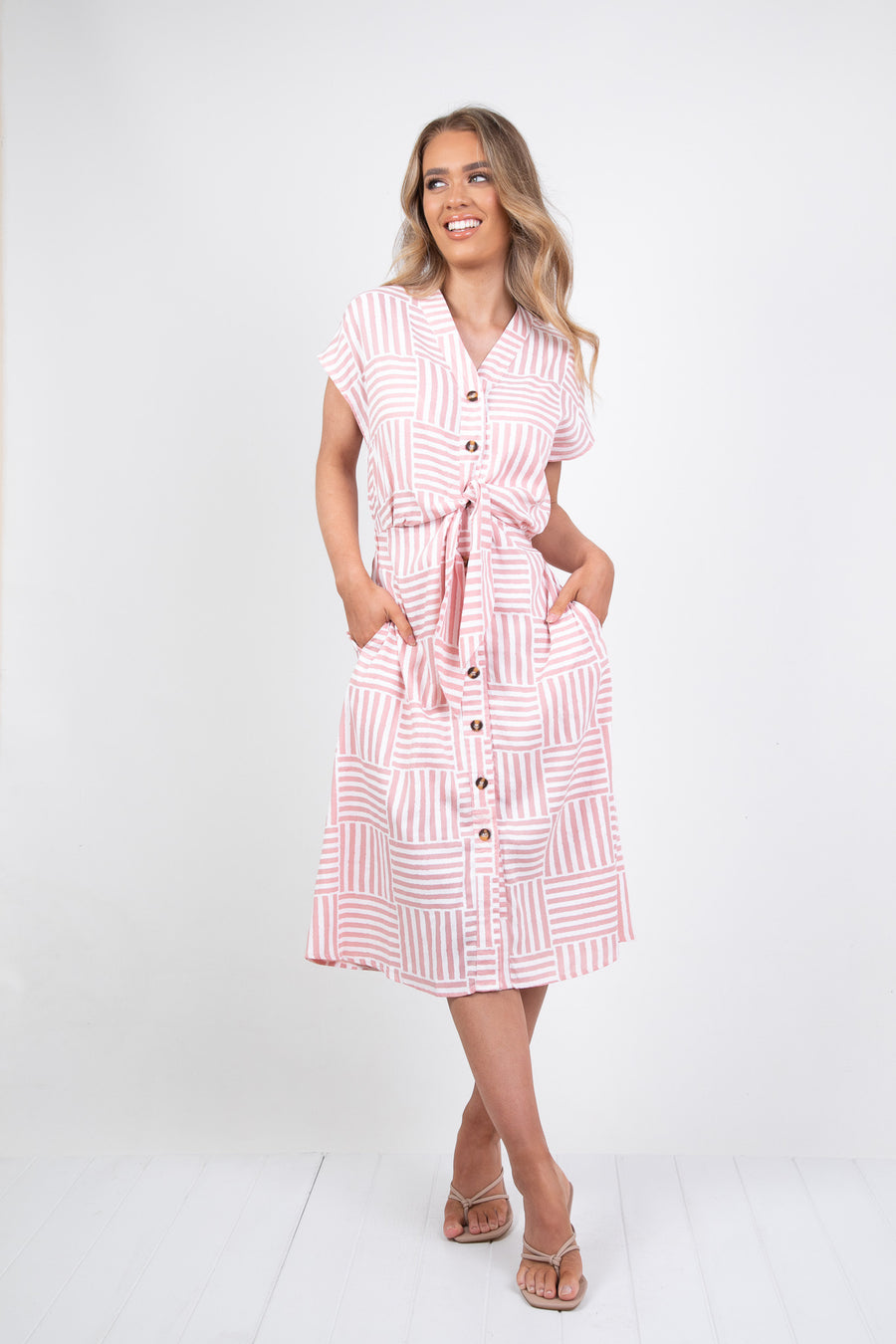 PETERSON DRESS - PINK