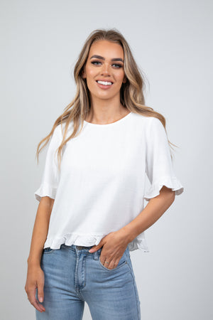 CHESTER TOP - WHITE