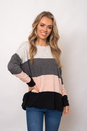 CELIA KNIT - MULTI GREY