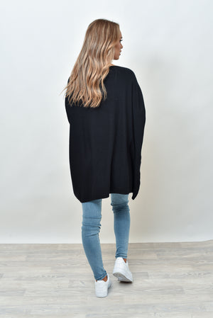 MOSES  KNIT - BLACK