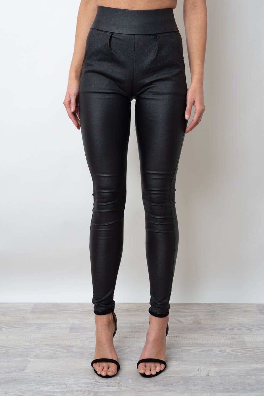 SAMMY SHINE PANT - BLACK