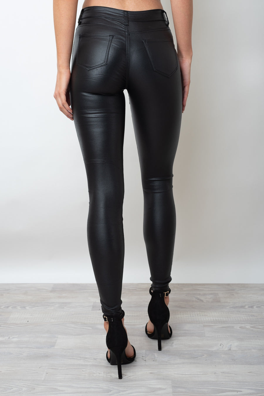 GIGI SHINE JEAN - BLACK