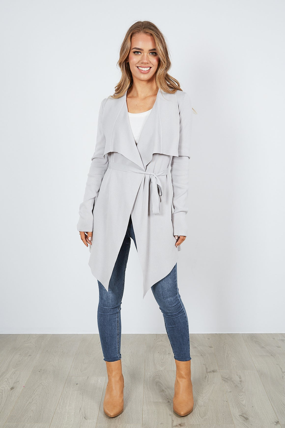 LONDON CARDI - GREY